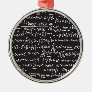 Blackboard Math Equations Christmas Ornament