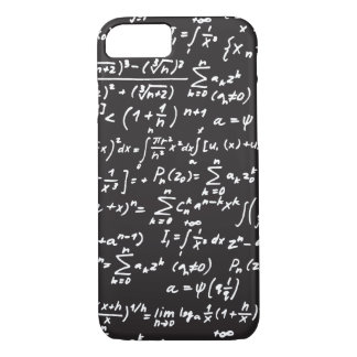 Blackboard Math Equations iPhone 8/7 Case