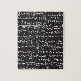 Blackboard Math Equations Jigsaw Puzzle