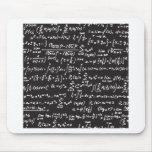 Blackboard Math Equations Mouse Mat