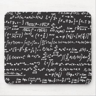 Blackboard Math Equations Mousepad