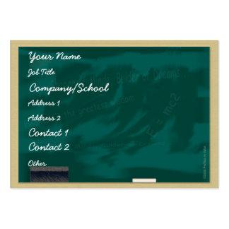 Blackboard Profile Card Business Card