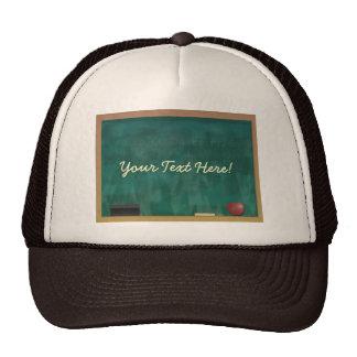 Blackboard Teacher Student Custom Mesh Hats