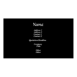Blackboard with Math Equations Pack Of Standard Business Cards