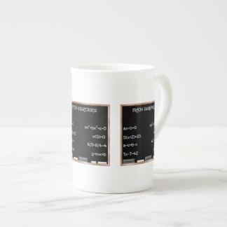 Blackboard with Math Equations Porcelain Mug