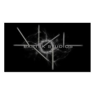 BlackBox Bartek Studios Business Cards