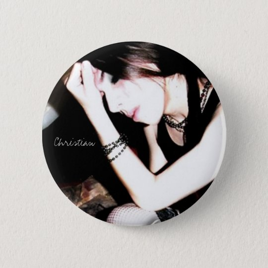 blackcover, Christian 6 Cm Round Badge