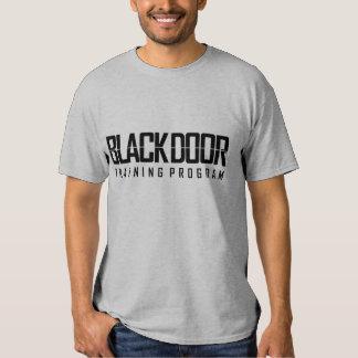 Blackdoor Training Program (men's grey) Tshirts