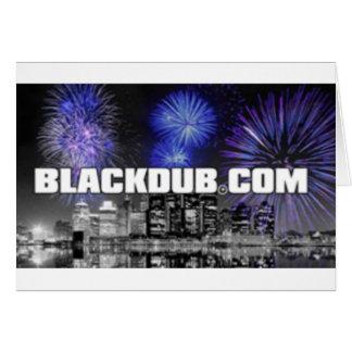 blackdub greeting cards