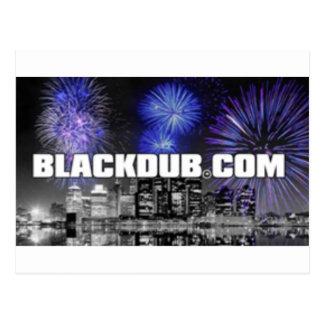 blackdub postcard