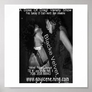 Blacke Velvet Poster