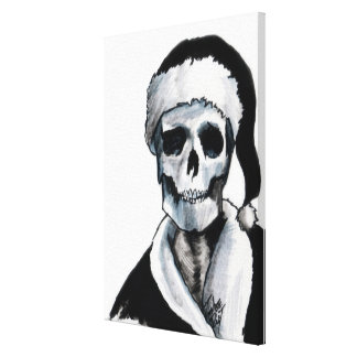 Blackest Ever Black Xmas Gallery Wrap Canvas