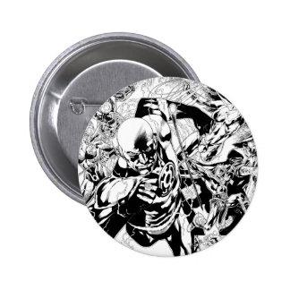Blackest Night Comic Panel 6 Cm Round Badge