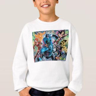 Blackest Night Comic Panel - Color Sweatshirt
