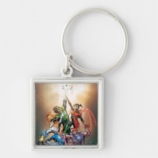 Blackest Night Cover Key Ring