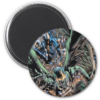 Blackest Night Group Painting - Color 6 Cm Round Magnet