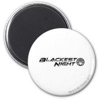 Blackest Night Logo 6 Cm Round Magnet
