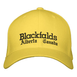 Blackfalds, Alberta, Hat Embroidered Hat