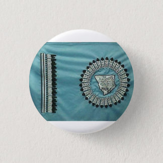 Blackfeet Nation Flag 3 Cm Round Badge