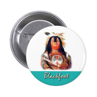 Blackfoot 6 Cm Round Badge
