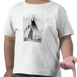 Blackfoot Brave, near Calgary, Alberta, 1889 Shirts