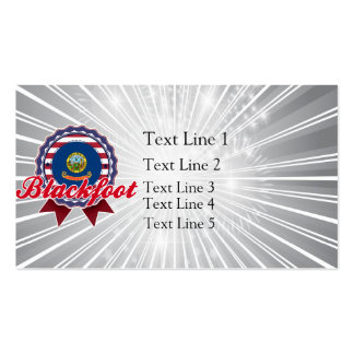 Blackfoot, ID Business Card Templates