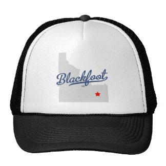 Blackfoot Idaho ID Shirt Mesh Hats