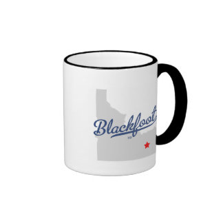 Blackfoot Idaho ID Shirt Mug