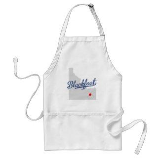 Blackfoot Idaho ID Shirt Standard Apron