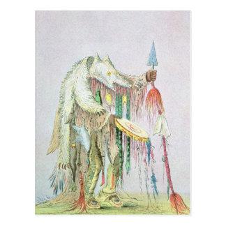 Blackfoot Medicine Man Postcard