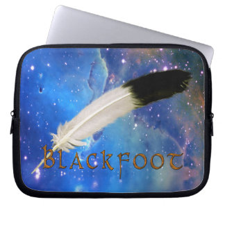 BLACKFOOT Nation & Feather Space Laptop Sleeve