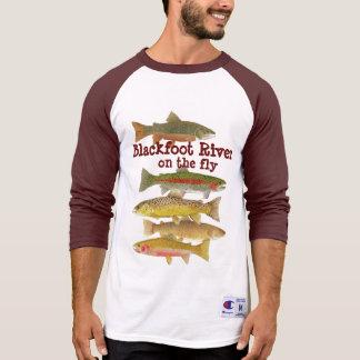 Blackfoot River Fly Fishing Tshirts