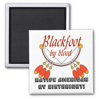Blackfoot Square Magnet