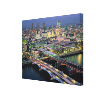 Blackfriar s Bridge Stretched Canvas Prints