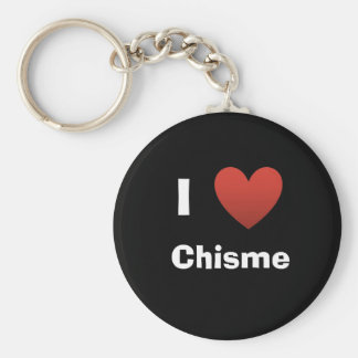 blackheart, I, Chisme Basic Round Button Key Ring
