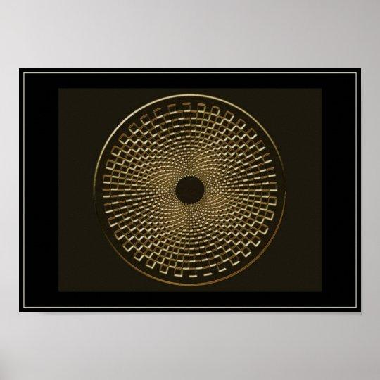 blackhole for gold poster