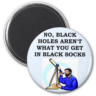 BLACKHOLE.png 6 Cm Round Magnet