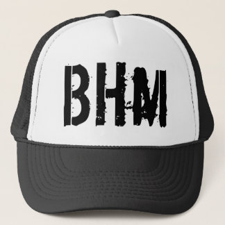 BlackHoodie Trucker Hat