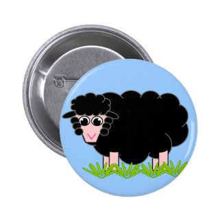 Blackie the Sheep Button