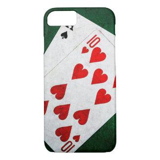 Blackjack 21 point - Ace, Ten iPhone 7 Case