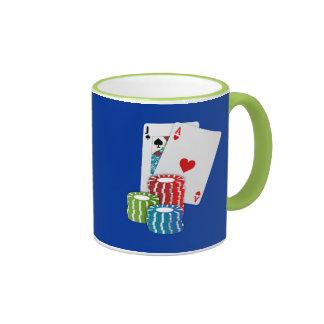 Blackjack - 21 ringer mug