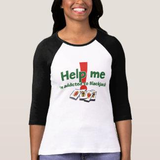 Blackjack ladies' raglan T-shirt