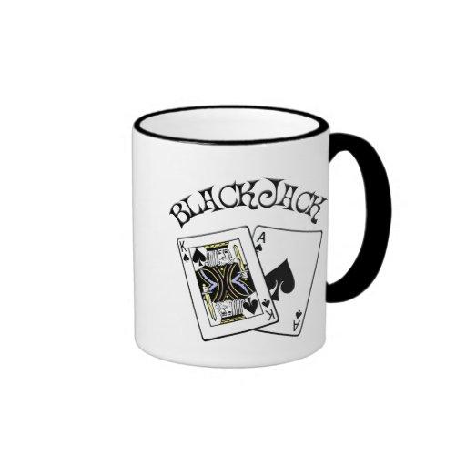 BLACKJACK RINGER COFFEE MUG