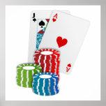 Blackjack with Poker Chips