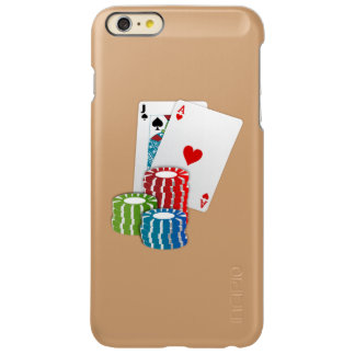 Blackjack with Poker Chips iPhone 6 Plus Case
