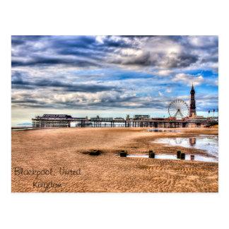 Blackpool Beach Postcards