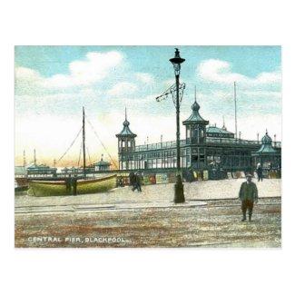 Blackpool, Central Pier Postcard