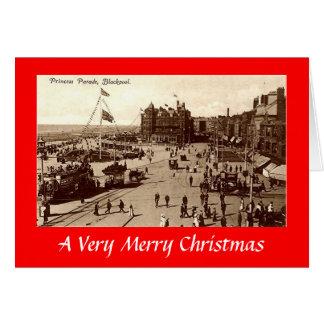 Blackpool, Christmas Card