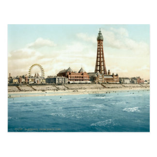 Blackpool from North Pier c 1895 Post Cards