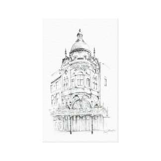 Blackpool Grand Theatre Canvas Print